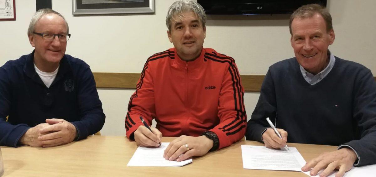 Marcel Geestman verlengt contract bij SV Schalkhaar